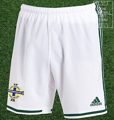 Northern Ireland Home Shorts - Official adidas Boys Football Shorts - All Sizes