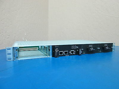 Turin Networks 8682 Chassis with 2x 24/48 Flex Master Modules + 8633 DS3c/ATM