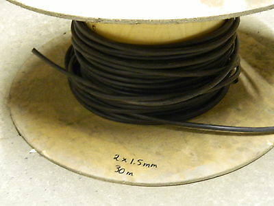 SWA Cable 2 core1.5mm 30 Meters Roll End