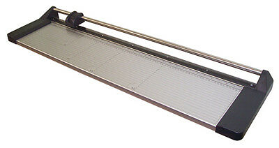 "New 33"" Manual Rotary Paper Cutter Trimmer Wide Format + 1 spare blade"