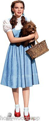 Dorothy & Toto The Wizard Of Oz Lifesize Cardboard Standup Standee Cutout Poster