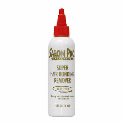 Salon Pro Exclusive Super Hair Bond Remover Lotion (For Extensions/Weaves) 4oz