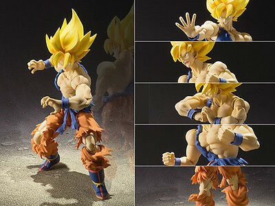 New Dragon Ball Z Super Saiyan Son Goku S.H.Figuarts Figure Figurine No Box