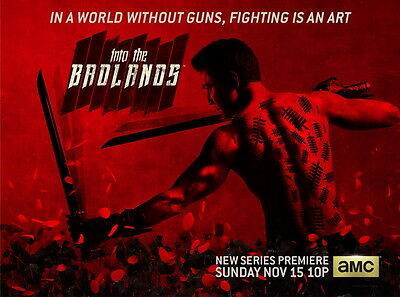 "352 Hot Movie TV Shows - Into the Badlands 19""x14"" Poster"