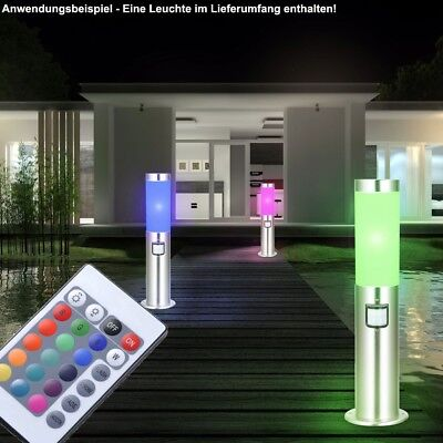 Rgb led floor lamp with color changing outdoor lighting motion rgb led outdoor lamp dimmable radio control standing lamp motion sensor sensor mozeypictures Gallery