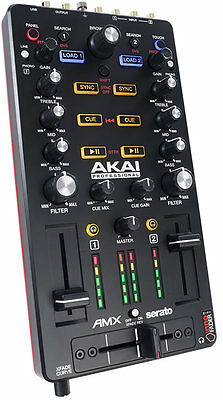 AKAI AMX Controller Midi usb e interfaccia audio per serato