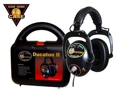 Clear-Signal Ducaton Headphones (Metal Detecting) - DETECNICKS LTD