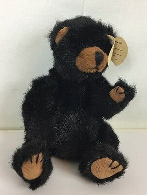 1993 TY Collectable Ivan the Black Bear W/ Legs and Arms Move Fast / Free Ship