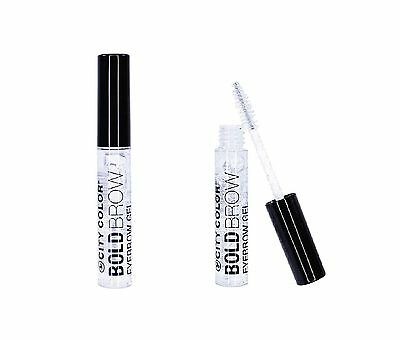 CITY COLOR BOLD BROW CLEAR EYEBROW GEL ~~ NEW & SEALED ~~ 6.8 ml