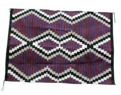 Donald Yazzie, Navajo Chief Blanket, Handwoven, 71in x 48in