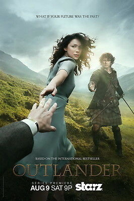 """487 Hot Movie TV Shows - Outlander 1 14""""x21"""" Poster"""