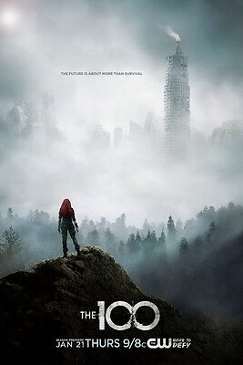 "660 Hot Movie TV Shows - The 100 Season 3 14""x21"" Poster"