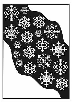 Static Cling Frozen Party Decoration Corner Snow & Snowflake Winter Stickers
