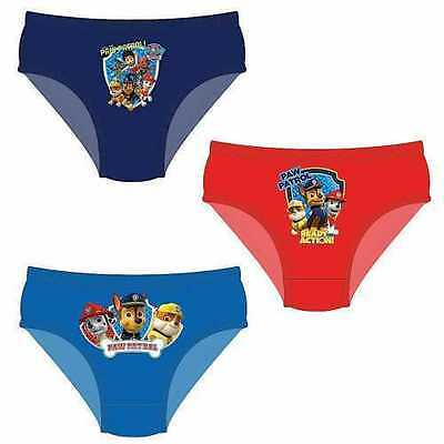3 Pairs Boys Kids Character Pants Underwear Briefs 100% Cotton Ages 1 to 5 yrs