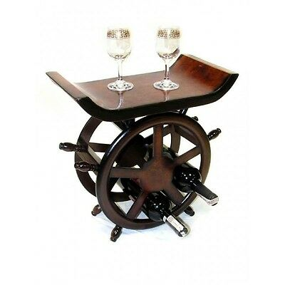 Wooden Novelty Rustic Vintage Wine Racks and Wine Glass Holders