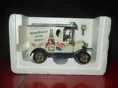 Special Edition Die Cast Metal Pepsi Cola Golden Classic Bank  Savings Penny