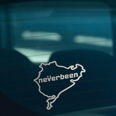 NEVERBEEN S2 Funny Novelty Car,Window,Bumper DUB EURO JDM Vinyl Decal Sticker