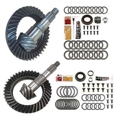 4.10 Ring And Pinion Gears & Install Kit Package - Dana 30 Jk Front / D44 Rear