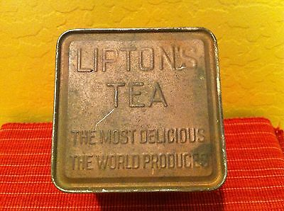 Estate find vintage Lipton Tea Tin.