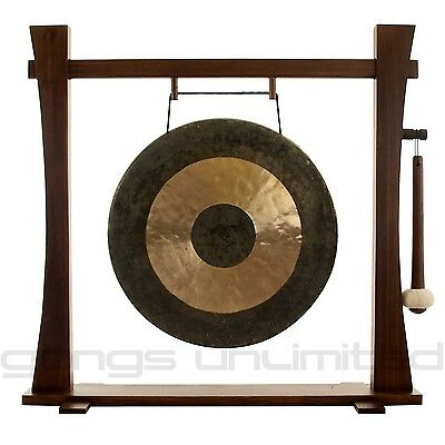 """18"""" Chau Gong on Spirit Guide Gong Stand with Mallet"""