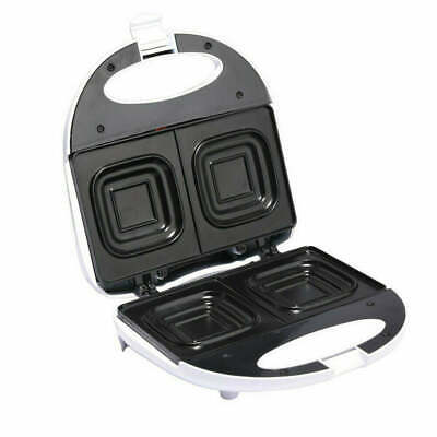 Maxim Deep Dish Sandwich Maker Press Toaster/Toast square loaf bread 2 Slice