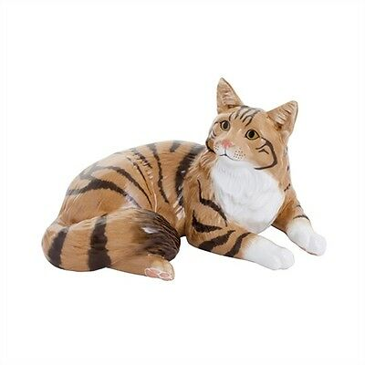 John Beswick Connoisseur Cats - Maine Coon Brown Tabby
