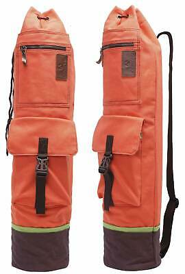 "Yogatasche ""Sharmila"" Yoga Bag Yogamatten Tasche Fitness Sport: Rot-orange"