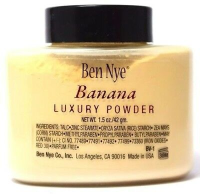 Ben Nye New Banana Luxury Face Powder 1.5 oz Makeup Kim Kardashian Beauty