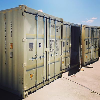 20 ft  NEW steel  shipping storage container in northern California