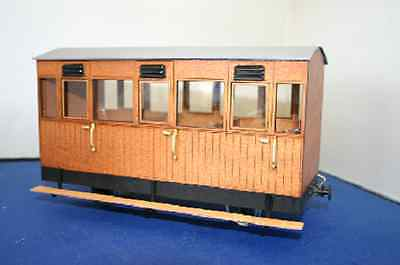 VOR Matchboard Short coach Rheidol IP engineering SM32 garden railway 16mm LGB