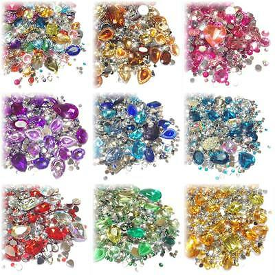 Crystal Bling Decoden Kits - 3D Jewels, Gems, Rhinestones - Cardmaking Crafts
