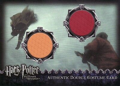 Harry Potter Prisoner of Azkaban Update Cedric & Harrys Dual Costume Card