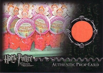 Harry Potter Prisoner of Azkaban Update Fizzing Whizzbees Prop Card