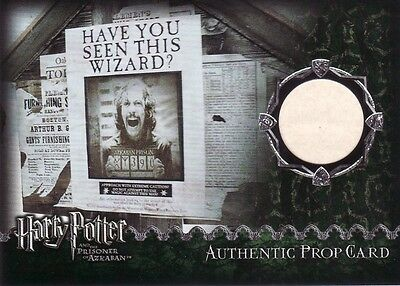 Harry Potter Prisoner of Azkaban Update Wanted Poster Prop Card