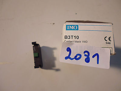 B3T10 IMO contacts auxiliaires 1NO auxiliary switche packet : 10 pieces stuk