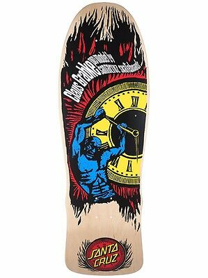 Santa Cruz Claus Grabke HOLD BACK TIME Skateboard Deck NATURAL