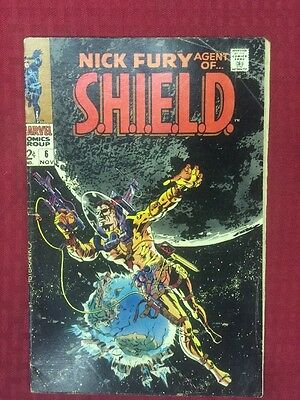 Nick Fury Agent of SHIELD  #6 (VG/FN  5.0) Nov-1968,  Marvel