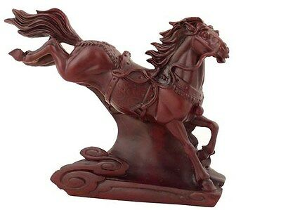 Flying Horse Statue - Red - The Fabulous Hong Tze Collectible Horse Statue [NEW]
