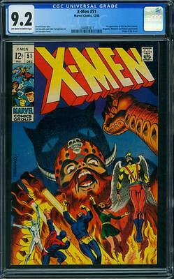 X-Men 51 Cgc 9.2 - Ow/w Pages