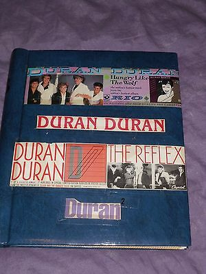 DURAN DURAN fan made Scrapbook Homemade photo album articles/pictures of Band @@
