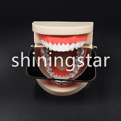 New Dental Intraoral Orthodontic Occlusal 2sided Photographic Glass Mirror