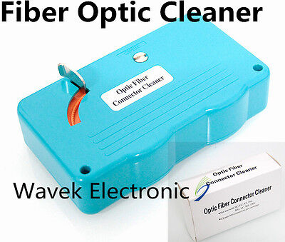 Hot Real Optic Fiber Cleaning Universal Fiber Optic Connector Cassette Cleaner