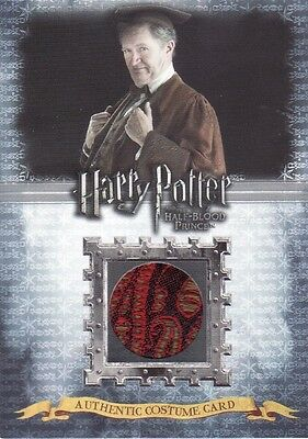 Harry Potter Half Blood Prince Horace Slughorn C10 Costume Card