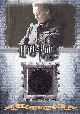 Harry Potter Half Blood Prince Minerva McGonagall C9 Costume Card