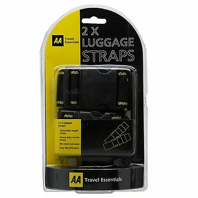 The AA - Luggage Straps - Pack of 2