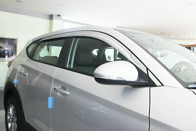 For Hyundai Tucson 2015+ Chrome Wind Deflectors - 5 door (6 pieces)