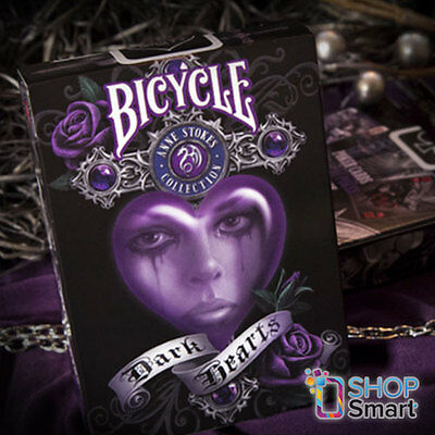 Bicycle Anne Stokes Dark Hearts Playing Cards Deck Fantasy Gothic Art Usa Uspcc