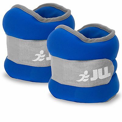 JLL® Ankle Weights Paired Set - Available in 0.5kg, 1kg, 1.5kg, 2kg, 2.5kg