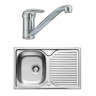 Astracast 800 x 500mm Stainless Steel Compact Kitchen Sink + Wastes + Tap Pack