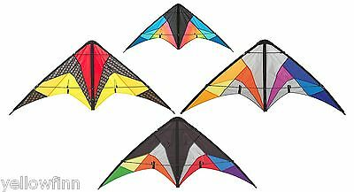 HQ Quickstep ll Stunt Trick Kite For Kids Adults Comes In 4 Different Designs
